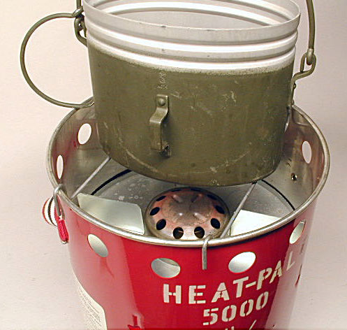 Origo Heat-Pal 5000 Alcohol Heater/Stove | Classic Camp Stoves