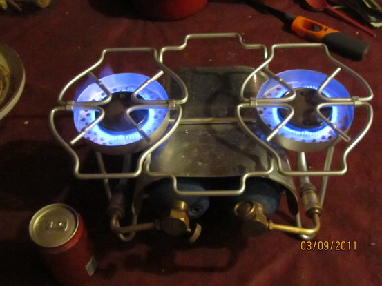 7 Of 9 Bernzomatic Porta Chef Propane Stove Double Burner Windscreens St810 Cing