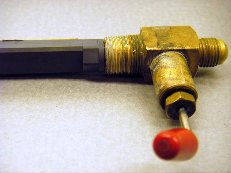 COLEMAN NEW OLD STOCK MODEL 508 STOVE VALVE AND PICKUP TUBE