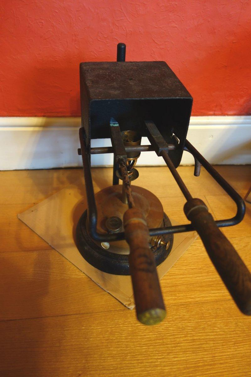 Primus stove soldering iron furnace c 1895  | Classic Camp Stoves