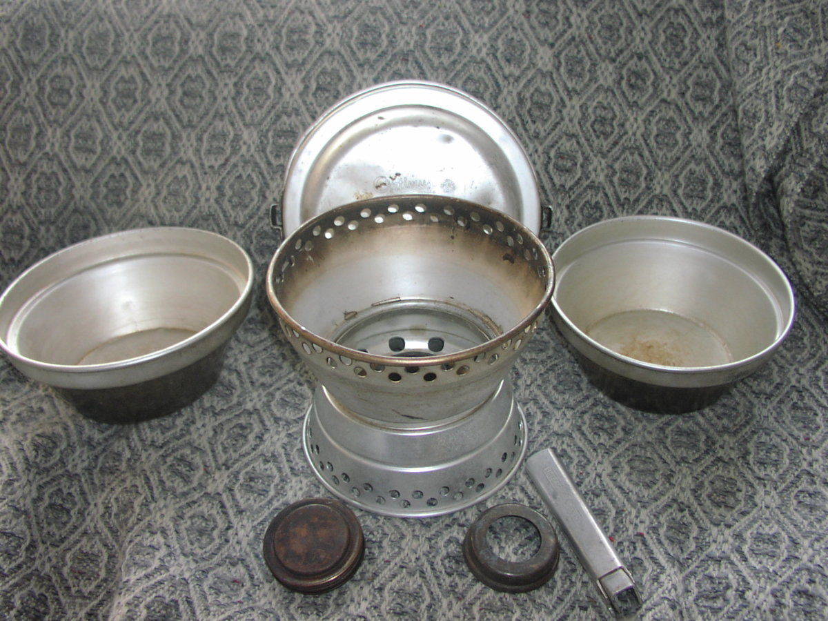 Optimus Alcohol Stove Classic Camp Stoves