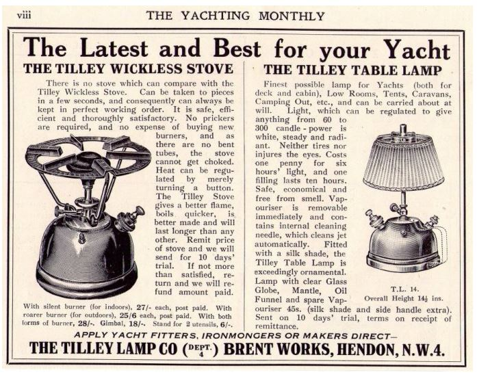 Tilley advert 1924  SY Stove.JPG